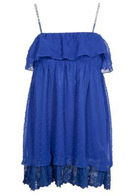 Blusa FiveBlu Camadas Alças Azul