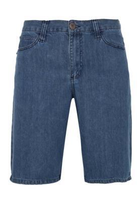 Bermuda Jeans Psychobilly Azul - Cavalera