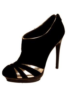 Ankle Boot  Lillys Closet Recortes e Mirror Preto - Lilly's ...