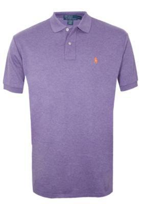Camisa Polo Ralph Lauren Intlk Roxa