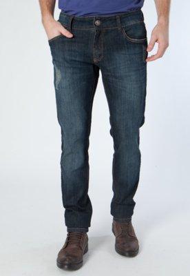 Calça Jeans Única Azul - Osmoze