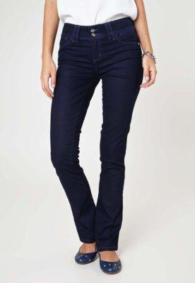 Calça Jeans Lee Bootcut Clean Azul