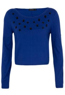 Blusa FiveBlu Pedrarias Azul