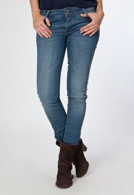 Calça Jeans Slim Lizzy Azul - MNG Barcelona