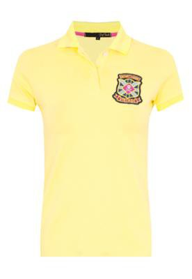 Camisa Polo Pop Touch Rugby League Amarela