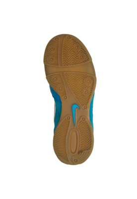 Chuteira Futsal Nike Jr Gato II Azul/Branco