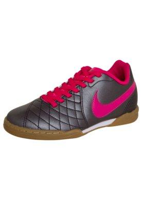 Chuteira Futsal Nike Jr Flare IC Cinza