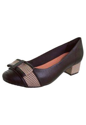 Sapato Scarpin Ramarim Laço Preto
