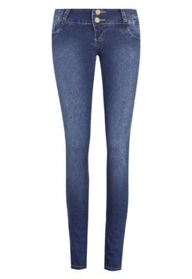 Calça Jeans Sawary Skinny Estilo Azul
