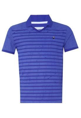 Camisa Polo Stripes Azul - FiveBlu