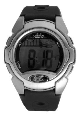 Relógio Cosmos OS48578S Prata e Preto