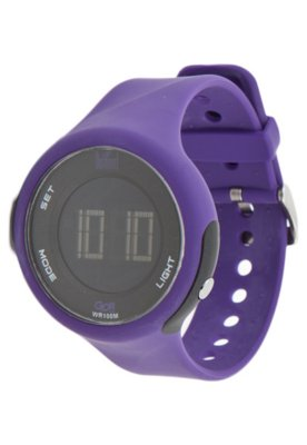 Relógio Dumont M SM45319N Roxo