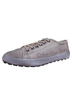Sapatênis Calvin Klein Street Bege