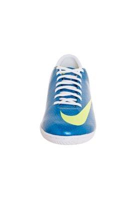Chuteira Indoor Nike Mercurial Victory IV IC EMB Azul