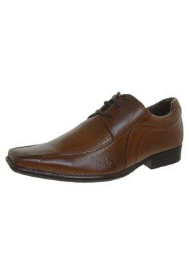 Sapato Social Pespontos Marrom - Lucca Salvatore