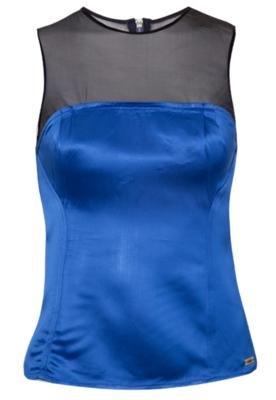 Blusa Justa Triton Modern Azul