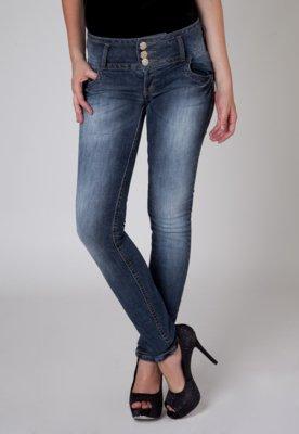 Calça Jeans Colcci Bolsos Azul