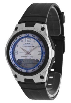 Relógio Casio AW827AVDF Prata/Preto