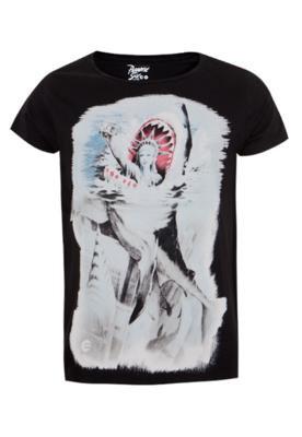 Camiseta Billabong Slim Manhattan Preta