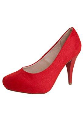 Sapato Scarpin Beira Rio Conforto Classic Vermelho