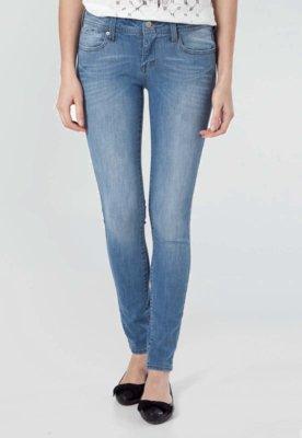 Calça Jeans MNG Barcelona Slim Fit Elektra Azul