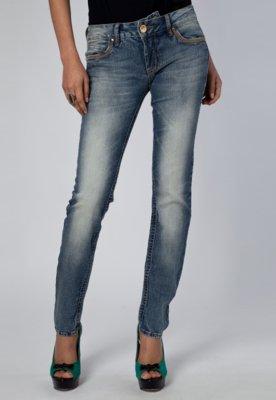 Calça Jeans Skinny Colcci Sexy Pespontos Azul