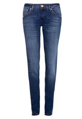 Calça Jeans MNG Barcelona Skinny Uptown Azul