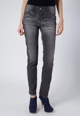 Calça Jeans Used Preta - Anna Flynn
