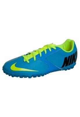 Chuteira Socyet Nike 5 Bomba Ii Azul