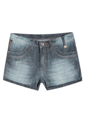 Bermuda Jeans Forum Daria Design Azul