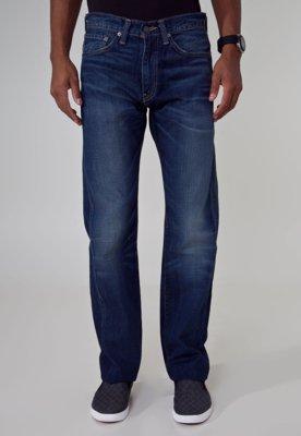 Calça Jeans Levis 505 Reta Regular Fit Azul