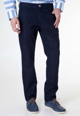 Calça Jeans Cavalera Reta Maculina Authentic Azul