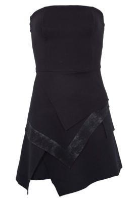 Vestido Cavalera Roma Camadas Preto