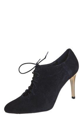 Ankle Boot Lily's Closet Salto Metalizado Preta - Lilly's Cl...