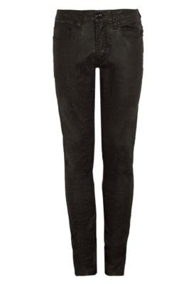 Calça Jeans Skinny Cavalera Elastic Boy Color Preta