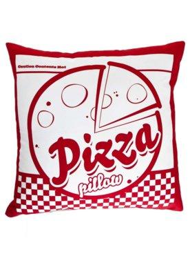Capa de Almofada Meninos Pizza Vermelha