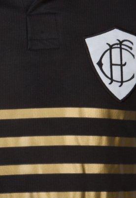 Camisa Polo Figueirense III Feminina Preta - Penalty