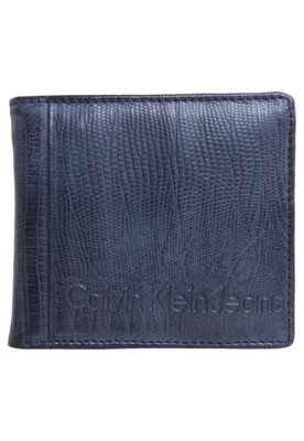 Carteira Calvin Klein Texture Cinza