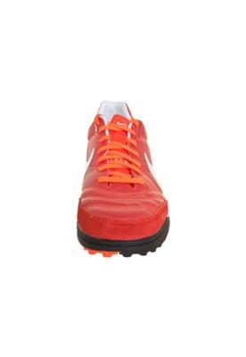 Chuteira Society Nike Tiempo Mystic IV TF Vermelho