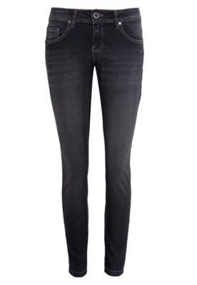Calça Jeans Skinny Volcom Soundcheck Cinza