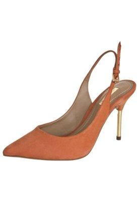 Sapato Scarpin Dumond Chanel Caramelo