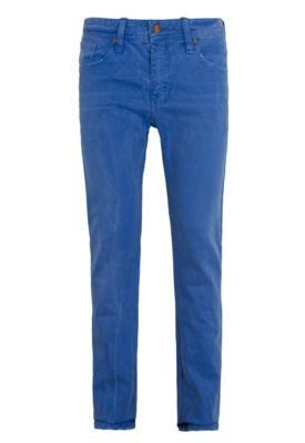 Calça Jeans Colcci Rodrigo Puídos Azul