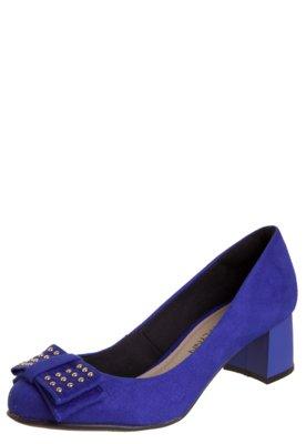 Sapato Scarpin Anna Flynn Maxy Azul