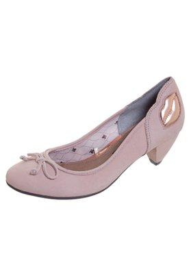 Sapato Scarpin Cravo e Canela Boca Nude - Cravo & Canela