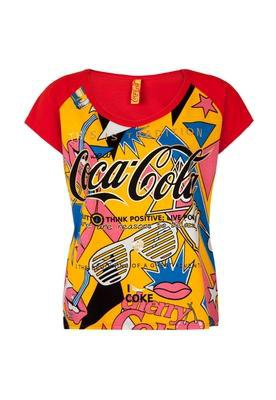 Blusa Boy Foil Vermelha - Coca Cola Clothing
