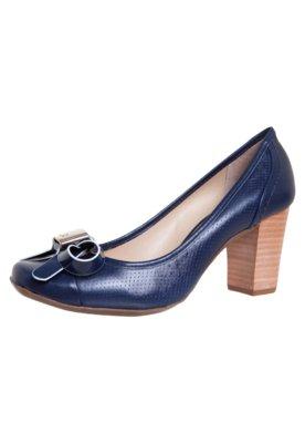 Sapato Scarpin Laço Azul - Jorge Bischoff