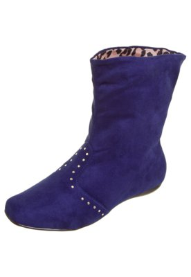 Ankle Boot Hotfix Azul - Moleca