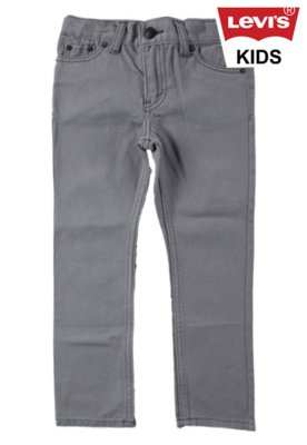 Calça Jeans Skinny Levi's Sidewalk Cinza - Levi's Kids