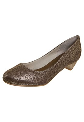 Sapato Scarpin FiveBlu Brilho Marrom