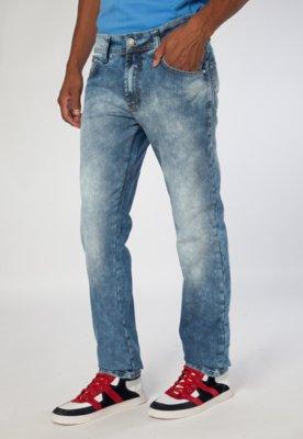Calça Jeans Reta George Azul - Coca Cola Clothing